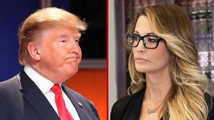 Trump tagadja, hogy szexuálisan zaklatta volna a pornósztárt, aki ezzel vádolja az elnökjelöltet