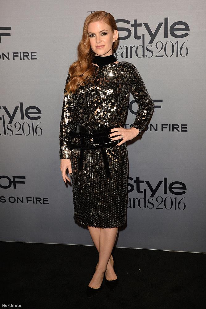 Ő Isla Fisher színésznő, Sacha Baron Cohen egyébként roppant szimpatikus felesége