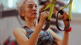 Ön is szeretne ilyen lendülettel edzeni 71 évesen?