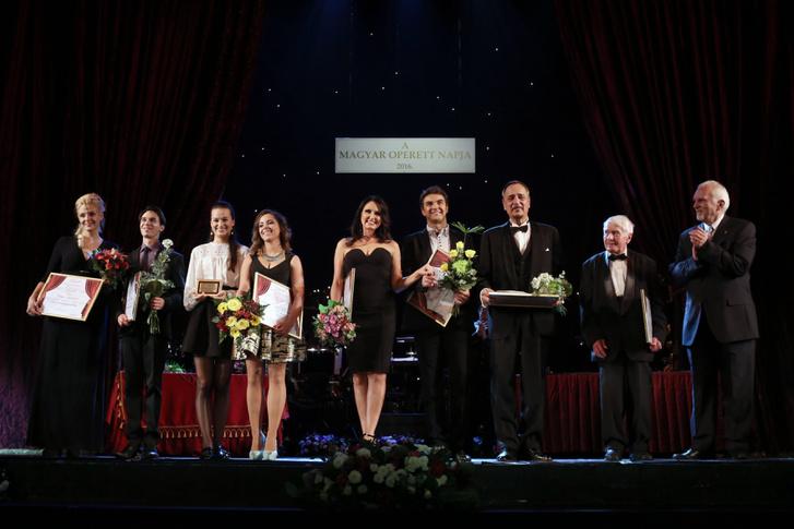 A Budapesti Operettszínház gálaestjén díjazott művészek