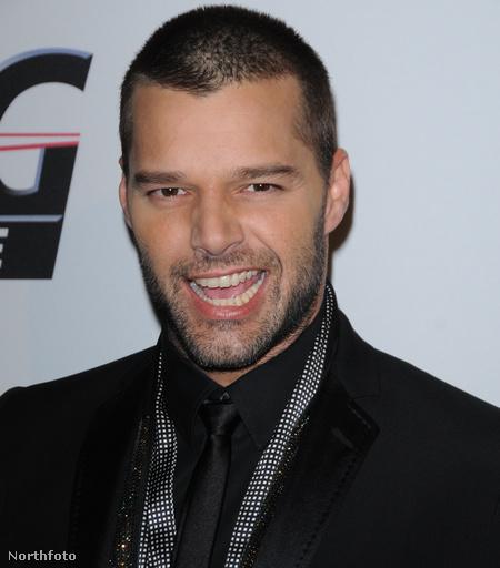 Ricky Martin idén januárban, valamivel 38. születésnapja után