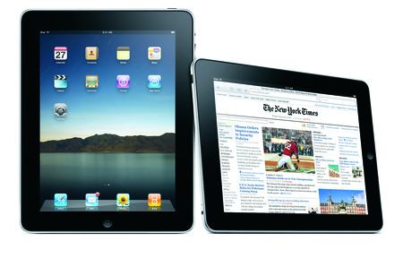 New York Times az iPadon
