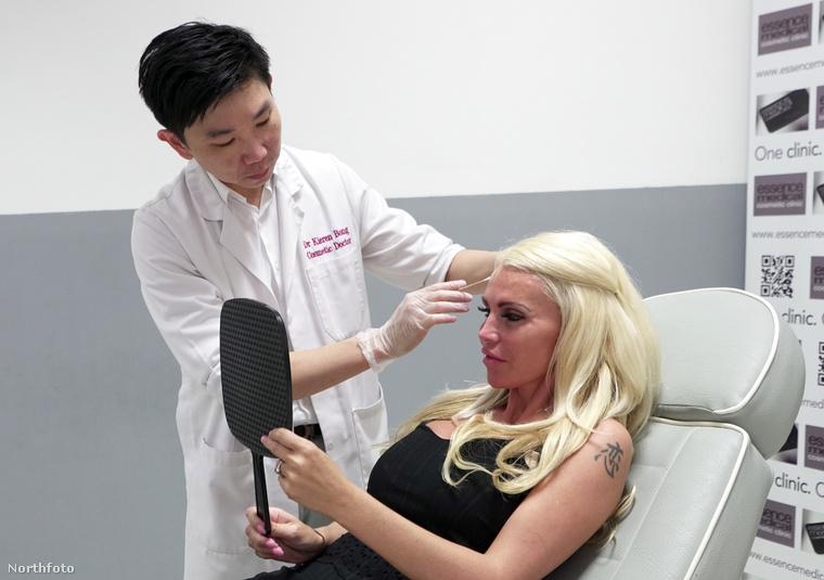 Évente átlagosan 12 ezer fontot, vagyis 4 millió forintot költ magára, amibe beletartoznak a botox-injekciók, illetve az, hogy rendszeresen feltöltsék a száját kollagénnel.