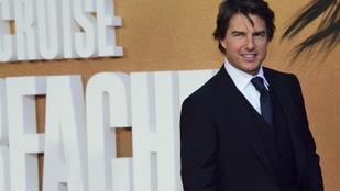 Tom Cruise-nak új barátnője van