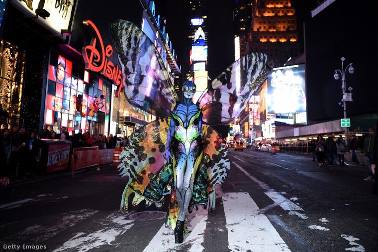 Heidi Klum pillangóként.