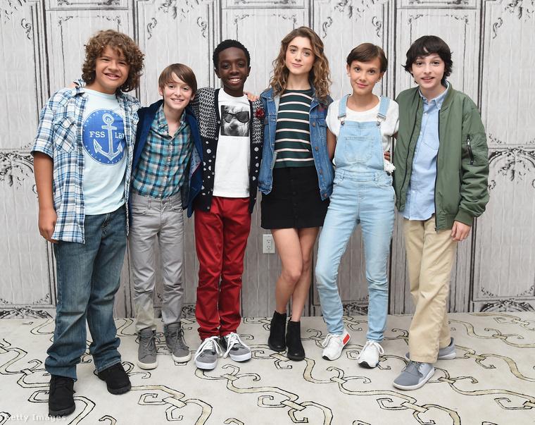 Ha tudja, kik ezek a srácok, akkor nem kell bemutatni a Netflix websorozatának főszereplőit
