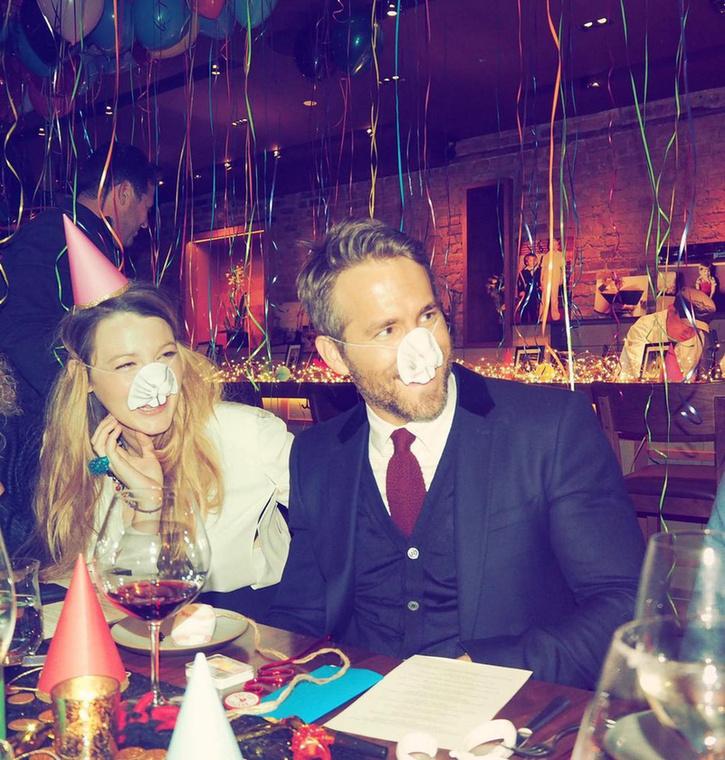 Ryan Reynolds olyannyira 40 éves lett, hogy két képpel emlékezünk meg az ünnepről