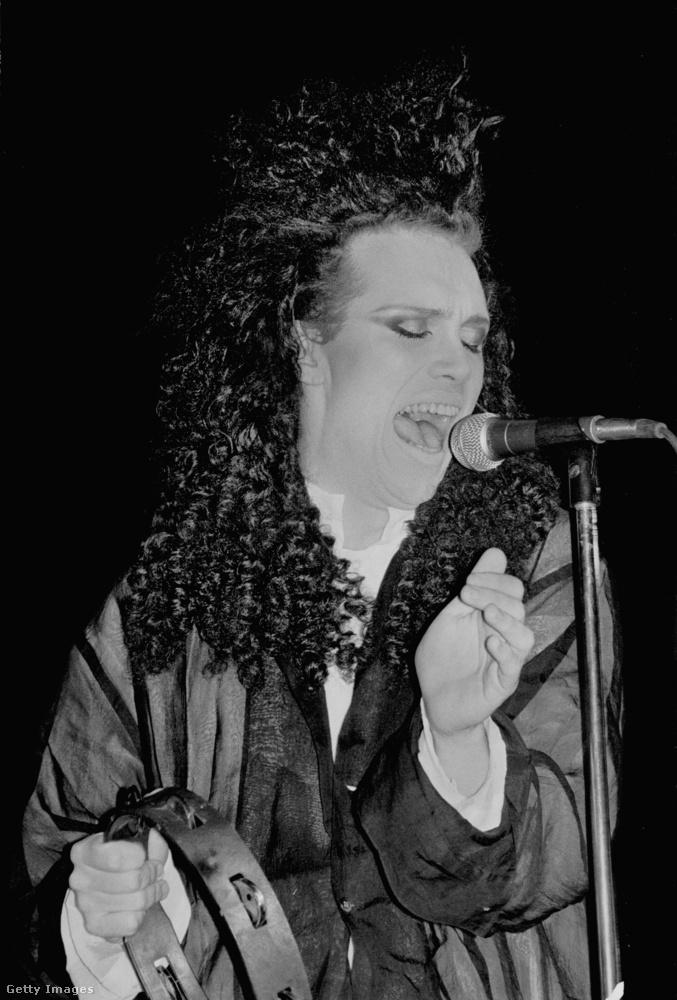 Pete Burns 1959-ben született Liverpooltól nem messze, és már 1979-től énekelt