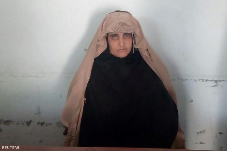 Sharbat Gula őrizetben