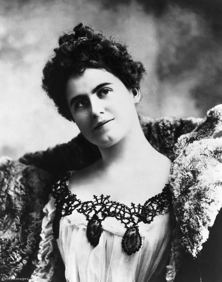 A fiatal Edith Bolling Galt Wilson