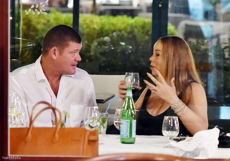James Packer és Mariah Carey 2015 szeptemberében.