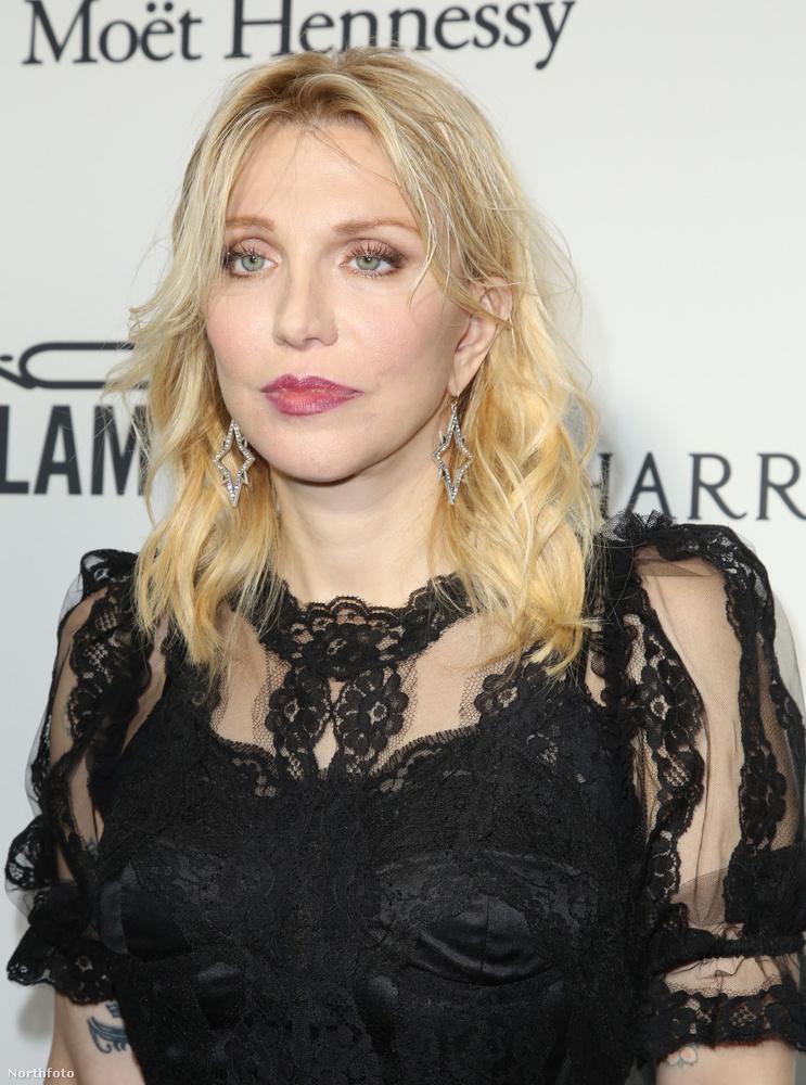 Kurt Cobain özvegye, Courtney Love a gála teljes ideje alatt olyan fejet vágott, amint akinek tudomására jutott, hogy még a hétvégén elpusztul az egész bolygó.