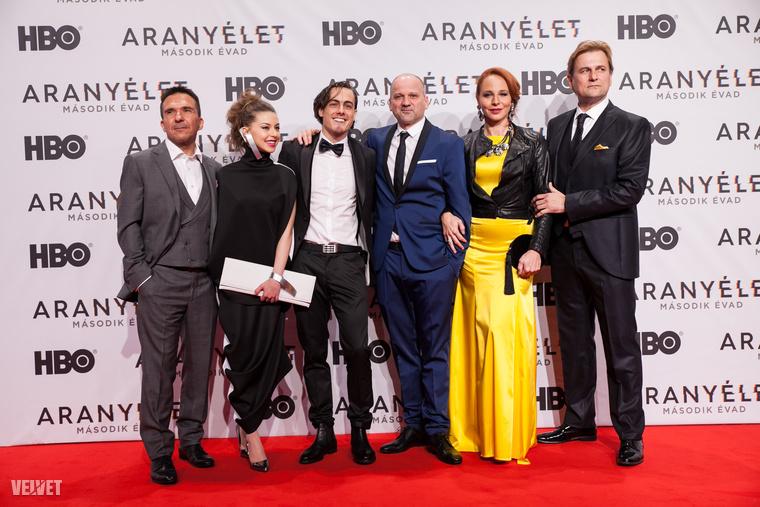 Csütörtök este tartották az HBO-s Aranyélet második évadának bemutatóját