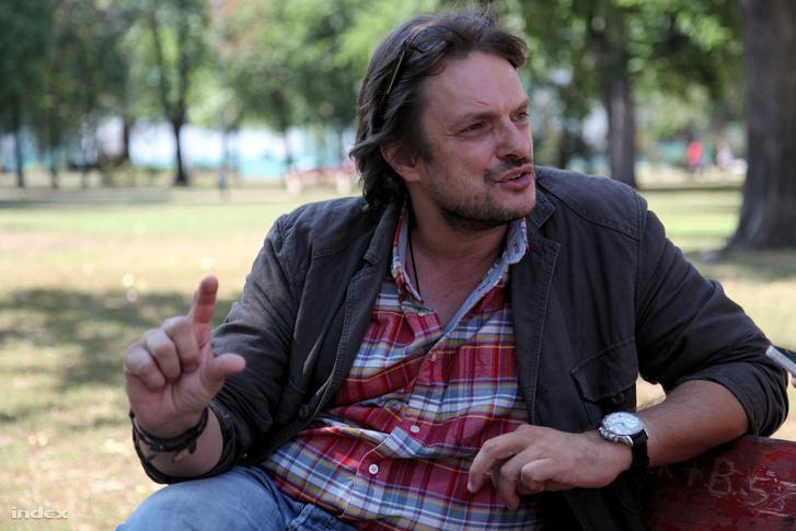 Angelusz Iván a Parkoló forgatásának idején