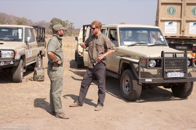 Harry herceg nem először látogatott Dél-Afrikába