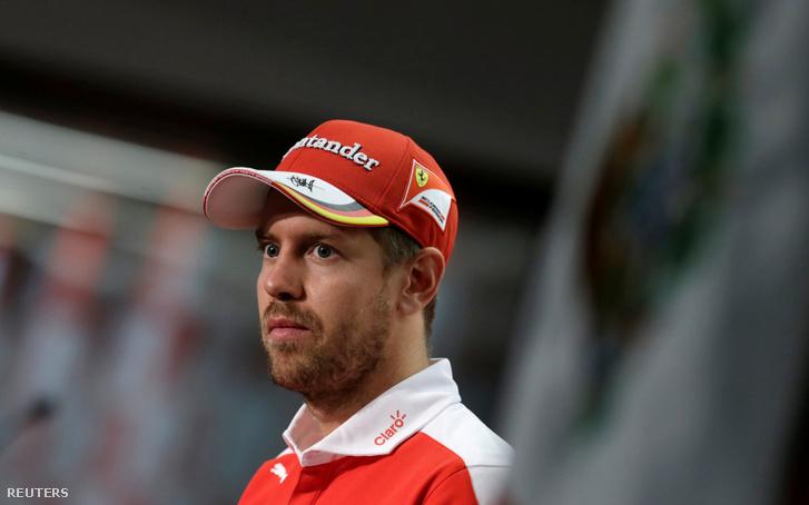 Vettel Mexikóban beszélt a sajtóval. Kicsit mintha megszeppent lenne