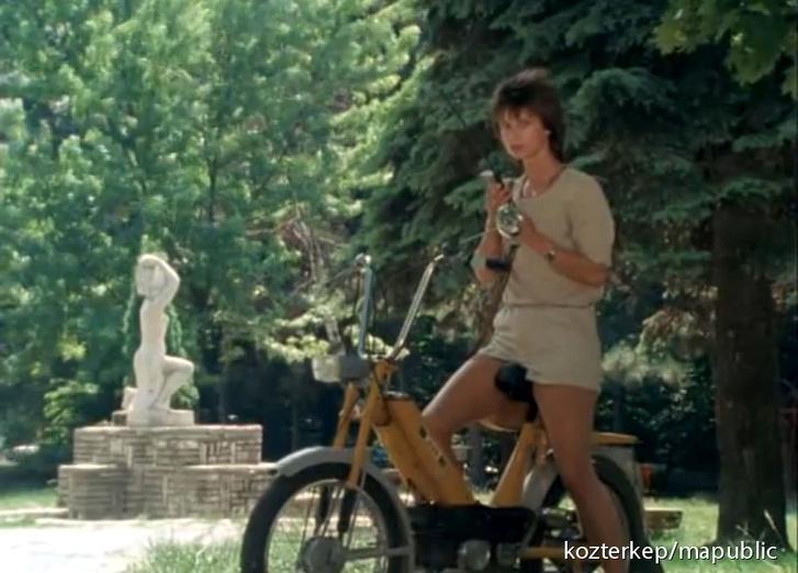 Jelenet a Linda - Hazajáró lélek című epizódjából (1989)