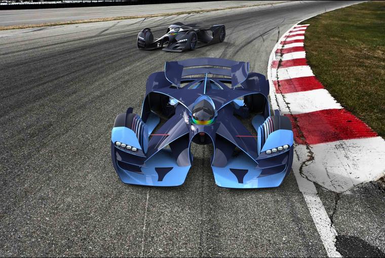 Bugatti Benoist (Samuel Marquez Arango, Olaszország) - Kisebb, könnyebb és gyorsabb autókat vár 2030-ra az alkotó