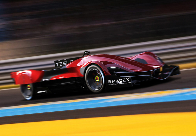 Tesla LMPE (Jeroen Claus, Fabian Brees, Belgium) - Az autót a bokszutcán áthaladva tölthetjük, de azon a szakaszon a sofőr csak a sebességet szabályozza, a kormányzást átveszi az autó.