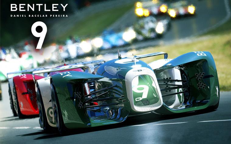 Bentley 9 (Daniel Bacelar, Portugália) - Teljesen elektromos autó, a gumik belsejében akkumulátorok