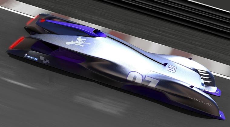 Infiniti Le Mans 2030 (Tao Ni, Kína) - Nemcsak a technológiát, a biztonságot is fontosnak tartja az alkotó, aki az éjszakai etapokat az autó irányításába adná