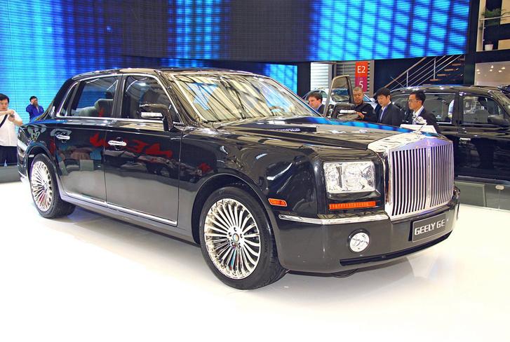Ilyet is tudna a Geely, ha behoznánk: GE-6 luxuslimó