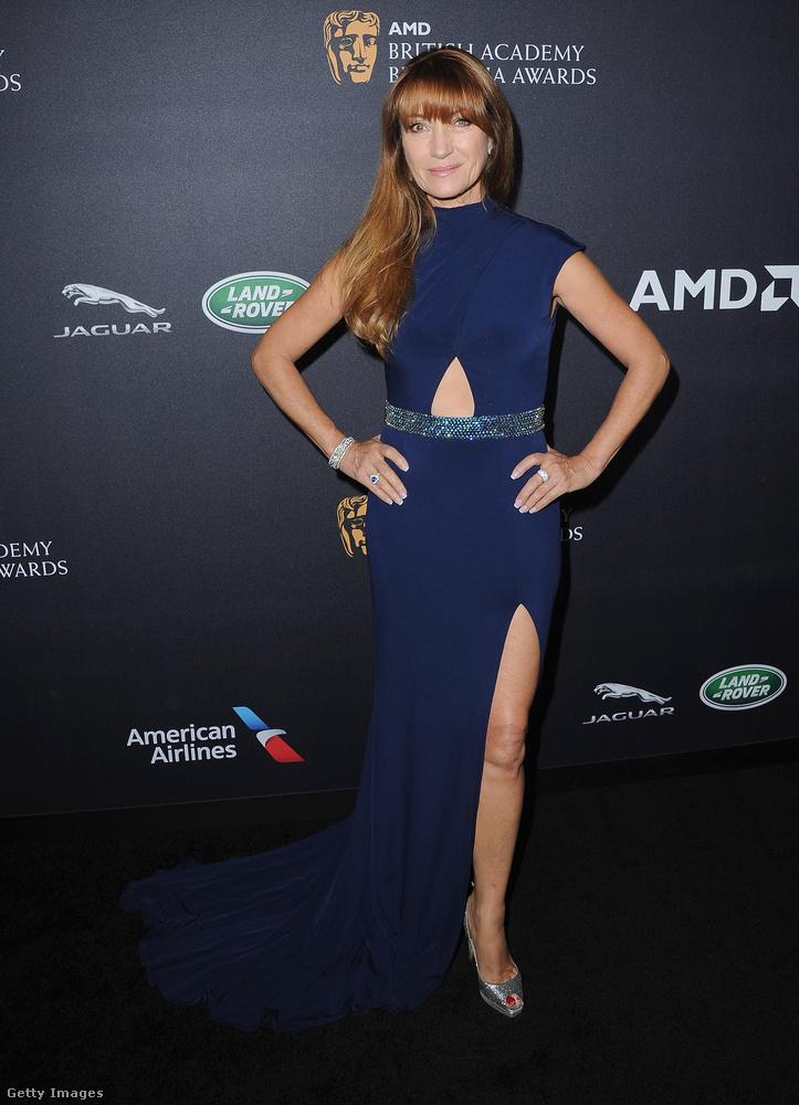 Bár a díjazott közt Jane Seymour nem szerepelt, bulizott egyet Los Angelesben