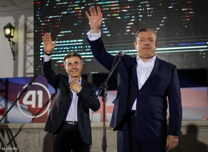 Bidzina Ivanisvili és Giorgi Kvirikasvili