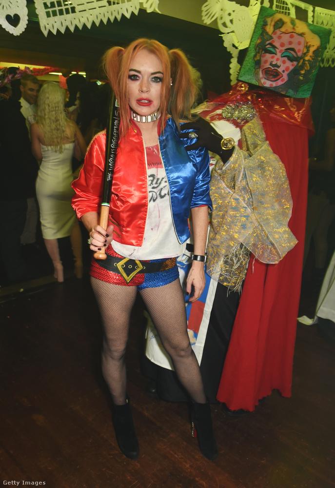 Lindsay Lohan is nagyon készült az estére