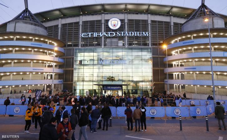 A Stadiont kiürítették a meccs előtt