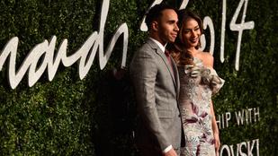 Nicole Scherzinger már nem is beszél Lewis Hamiltonnal