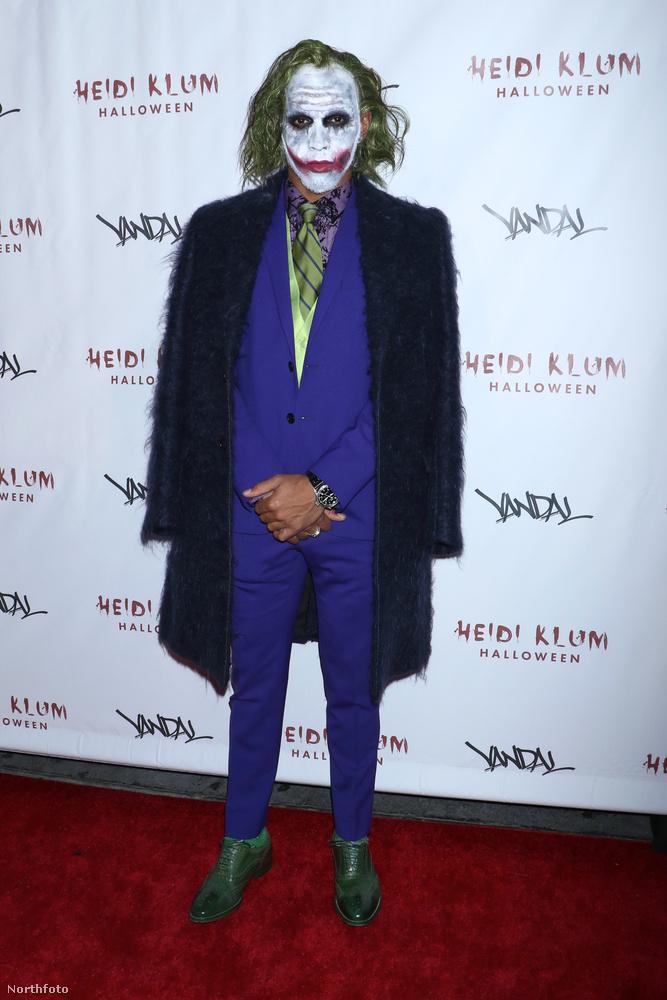 Lewis Hamilton öltözött idén Jokernek