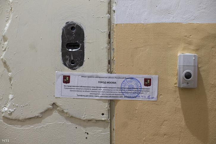 Az Amnesty International lepecsételt moszkvai irodája