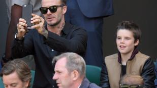 Beckham gyereke tényleg énekes lesz, már stúdiózik