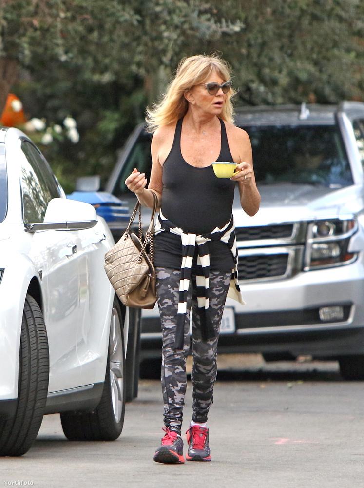 Ő itt Goldie Hawn, színésznő