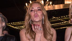 Lindsay Lohan meglehetősen furán beszél