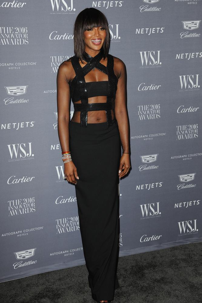 Az eseményen Naomi Campbell is megjelent