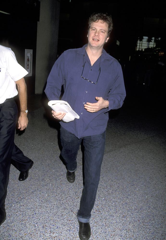 Pedig volt idő, amikor Firth lazábban öltözködött