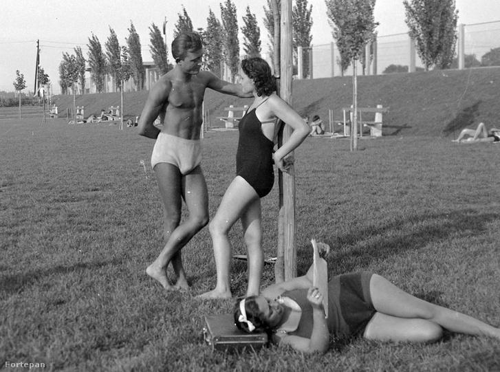 A Tungsram strand 1943-ban