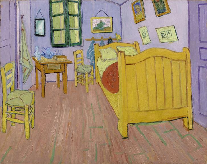 Van Gogh szobája Arles-ban 1889