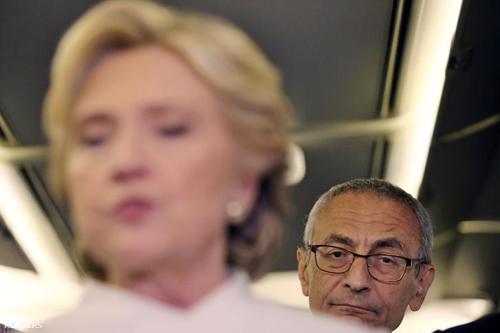 Hillary Clinton és John Podesta
