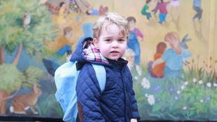 Ben Affleck kisfia királyi náthát kaphatott György hercegtől
