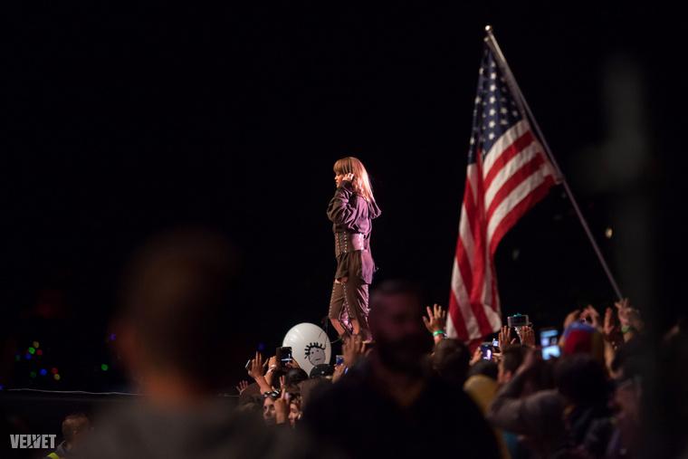 Az év egyik nagy fellépője Rihanna volt a Szigeten