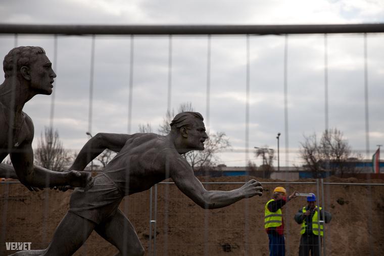 2015-ben még teljes valójában nézhettem meg a Puskás Ferenc Stadiont kívülről belülről