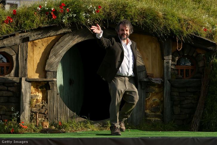 Peter Jackson, aki a Gyűrűk Ura filmekkel vált ismerté.