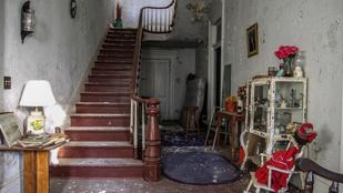 Harminc éve érintetlenül áll ez a kísérteties ház