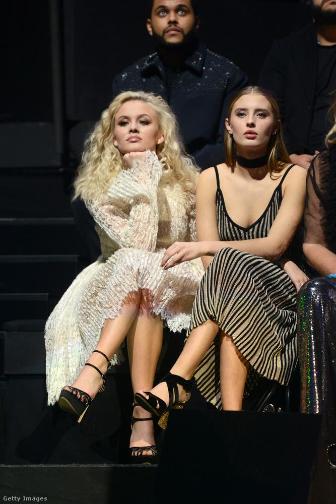 Zara Larsson újra, aki egyébként egy ugrálós másfél percben adta elő, hogy miért járt neki a díj.