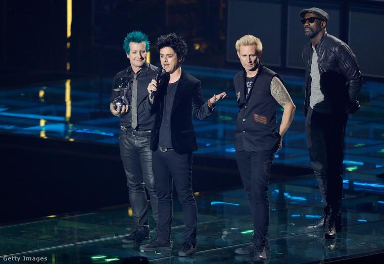 A Green Day szintén ott volt a rotterdami gálán