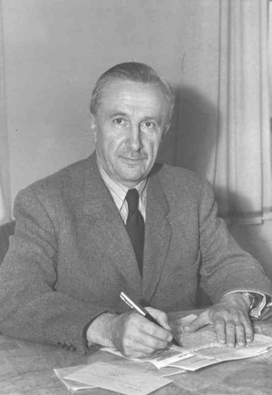 Papp Simon New Yorkban 1947-ben.