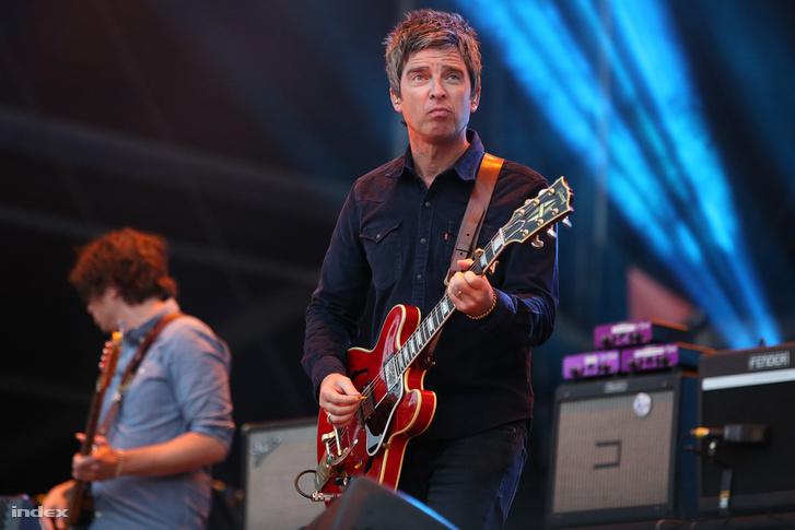 Noel Gallagher 2016-ban a Szigeten